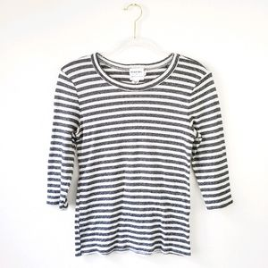 Michael Stars for Anthropologie Striped Top M/L